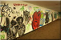 SX8763 : Graffiti in subway, Marldon by Derek Harper