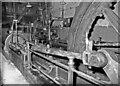 SD7428 : Steam engine at Indian & Primrose Mill, Church by Chris Allen