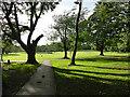 SE2337 : Entering Horsforth Hall Park from Fink Hill by Stephen Craven