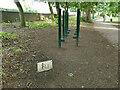 SE2337 : Stilts, Horsforth Hall Park by Stephen Craven