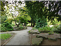 SE2338 : Rockery in Horsforth Hall Park by Stephen Craven