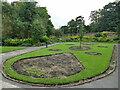SE2338 : Bedding area, Horsforth Hall Park by Stephen Craven