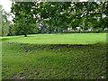SE2337 : Earthworks, Horsforth Hall Park by Stephen Craven