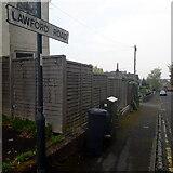SZ0995 : Moordown: Lawford Road by Chris Downer