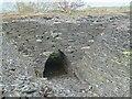 SH6369 : Slate arch at former Bryn Hafod-y-Wern quarry, Llanllechid by Meirion