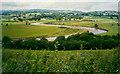 SN6624 : Afon Tywi meanders near Ffairfach by Humphrey Bolton