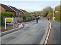 SO8755 : Access road to the Stableford development by Chris Allen