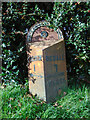 SE3593 : Old milepost by Chris Minto