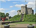 ST1876 : Cardiff Castle Keep by Colin Smith