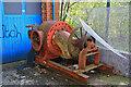 SE0925 : Calderdale Industrial Museum - water turbine by Chris Allen
