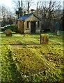 NS6172 : Watch-house, Cadder Parish Church by Richard Sutcliffe