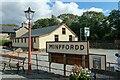 SH6038 : Minffordd Station by Jeff Buck