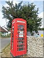 TQ4302 : K6 Telephone Kiosk used as Library by PAUL FARMER