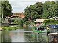 SU9950 : Guildford - River Wey by Colin Smith
