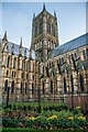 SK9771 : Lincoln Cathedral Tower by Oliver Mills