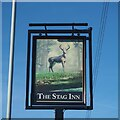 SK5044 : The Sign of The Stag Inn by David Lally