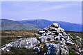 NN2885 : Summit area of Beinn a' Mhonicag by Trevor Littlewood