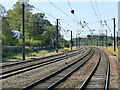 SE5951 : Four tracks south from York by Stephen Craven
