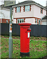 SX9166 : Postbox by Teignmouth Road, Torquay by Derek Harper