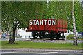 SK4642 : Preserved railway wagon, Ilkeston by Chris Allen