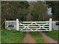 TG3132 : Gated entrance to The Cottage by David Pashley