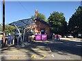 SP2865 : Bike rack and wheelie bins, Warwick station by Robin Stott