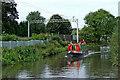 SJ9621 : Canal near Milford in Staffordshire by Roger  Kidd