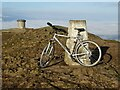 SO7645 : The trig point on Worcestershire Beacon by Philip Halling