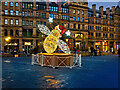 SJ8398 : Exchange Square, Christmas Bee outside the Corn Exchange by David Dixon