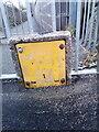 SH6267 : Worn hydrant sign on Lôn Newydd, Bethesda by Meirion