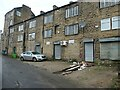 SE0623 : Buildings on Back Wharf Street, Sowerby Bridge by Christine Johnstone
