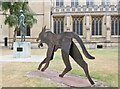 TL8564 : St Edmundsbury Cathedral by Colin Smith
