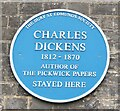 TL8564 : Bury St Edmunds - Charles Dickens by Colin Smith