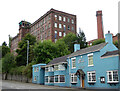 SJ9756 : The Retreat and Big Mill, Leek by Chris Allen