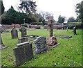 SO8594 : Churchyard Scene by Gordon Griffiths