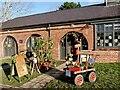 ST2885 : Charity shop, Tredegar House by Robin Drayton