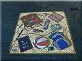 SK6241 : Victoria Street, Netherfield – Mosaic 2 by Alan Murray-Rust