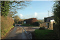 SX8558 : Coombe House Lane by Derek Harper