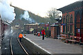 SK3706 : An atmospheric departure from Shackerstone Station  by Chris Allen