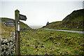 NY7767 : Path junction at Milking Gap by Andy Waddington