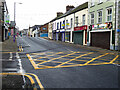 H4572 : Deserted streets, Omagh by Kenneth  Allen
