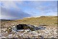 NY9024 : Ridge rising beyond butt No. 11 by Trevor Littlewood