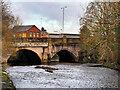 SD7910 : River Irwell, Bury Bridge by David Dixon