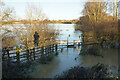 SP7006 : Access for Angling Club members only by Bill Boaden