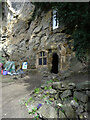 SE3556 : Chapel of Our Lady of the Crag, Knaresborough by habiloid