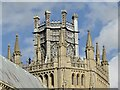 TL5480 : Ely Cathedral - Octagonal Tower by Colin Smith