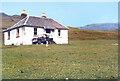 NM3395 : Harris Lodge by Des Blenkinsopp