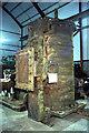 NZ2154 : Beamish Regional Museum Store - cylinder of Warden Law engine by Chris Allen