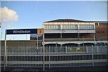 TQ2470 : Wimbledon Station by N Chadwick