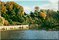 SO4341 : The Weir Gardens, Kenchester by Humphrey Bolton